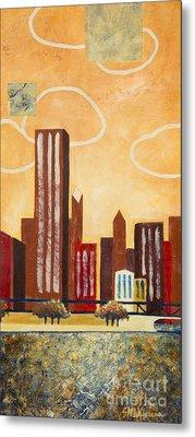 Chicago River I Metal Print