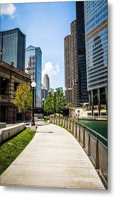 Chicago Riverwalk Picture Metal Print