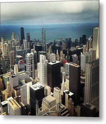 Chicago, Second To None Metal Print