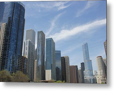 Chicago Skyscrapers Metal Print