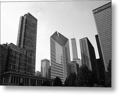 Chicago Skyscrapers Metal Print