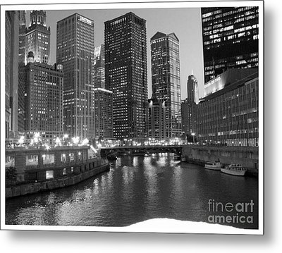 Chicago Sparkle Metal Print by Jesse Forrister
