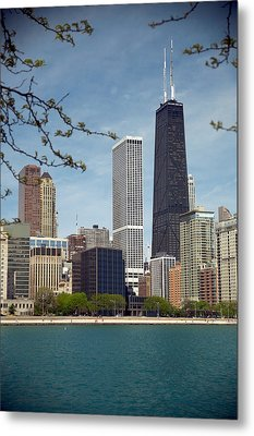 Chicago Spring Metal Print