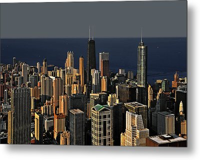 Chicago - That Famous Skyline Metal Print by Christine Till