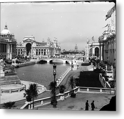 Chicago Worlds Columbian Exposition 1893 Metal Print by Historic Photos