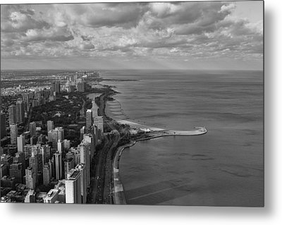 Chicago's Lake Front Metal Print by Jerome Lynch