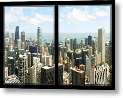Metal Print featuring the photograph Chicago's Tallest by Doug Kreuger