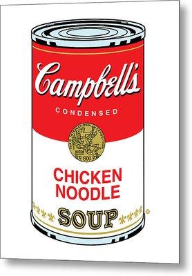Chicken Noodle Soup Metal Print by Gary Grayson