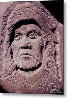 Chief-cochise-2 Metal Print by Gordon Punt