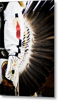 Chief Metal Print by Off The Beaten Path Photography - Andrew Alexander