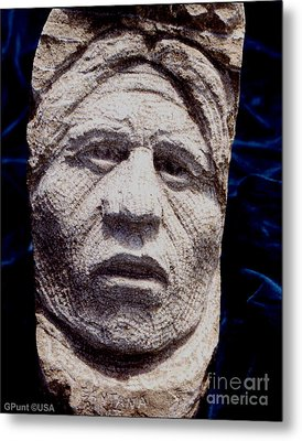 Chief-santana Metal Print by Gordon Punt