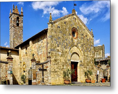 Metal Print featuring the photograph Chiesa Di Santa Maria Assunta by Fabrizio Troiani