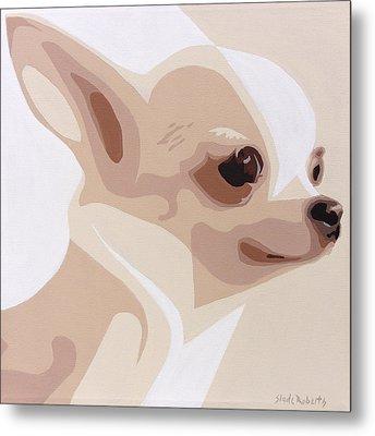 Chihuahua Metal Print by Slade Roberts