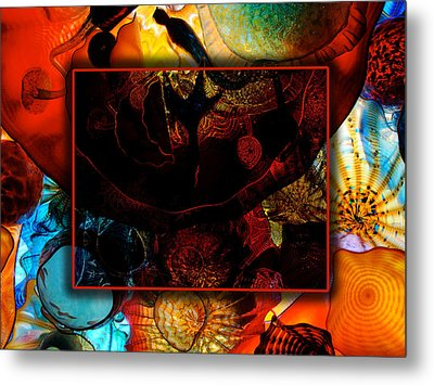 Chihuly Metal Print by David Blank