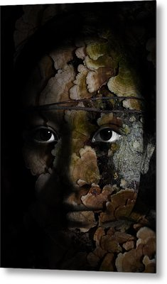 Child Of The Forest Metal Print by Christopher Gaston