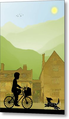 Childhood Dreams Special Delivery Metal Print by John Edwards