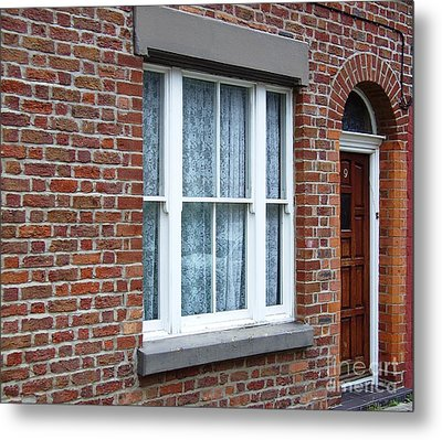 Childhood Home Of Ringo Starr Madryn St Liverpool Uk Metal Print