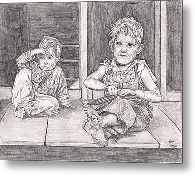 Children Of The Appalachians Metal Print