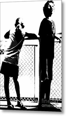 Metal Print featuring the photograph Children On Governors Island Ferry Ride by Lilliana Mendez