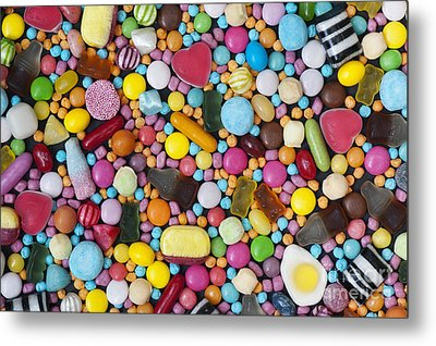 Children's Sweets Metal Print by Tim Gainey