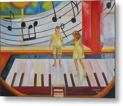 Childs Play Metal Print by Charme Curtin