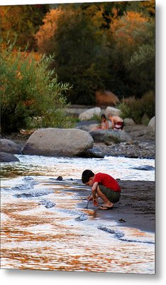 Childs Play Metal Print by Melanie Lankford Photography