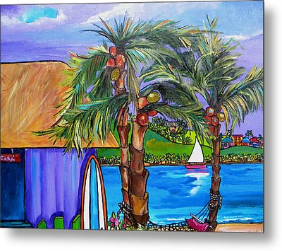 Chillaxing Metal Print by Patti Schermerhorn
