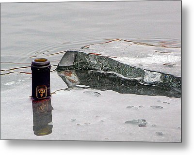 Chilled Metal Print by Paul Wash