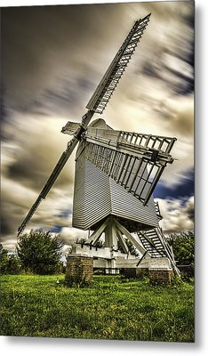 Chillenden Windmill Kent Metal Print