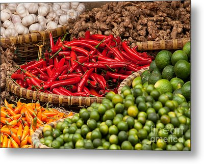 Chillies 01 Metal Print