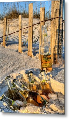 Chillin In Destin Metal Print by JC Findley