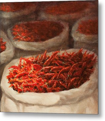 Chillis 2010 Metal Print by Lincoln Seligman