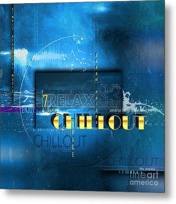 Chillout Metal Print by Franziskus Pfleghart