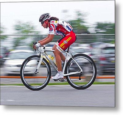 Chin Picnic Bike Race Canada Day 2013 2 Metal Print by Brian Carson