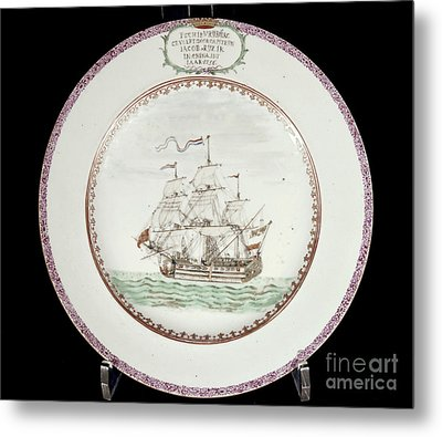 China - Dutch Ship 1756 Metal Print by Granger