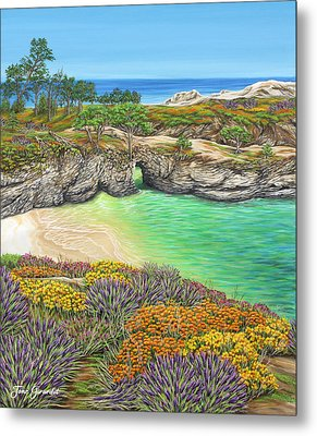 China Cove Paradise Metal Print by Jane Girardot