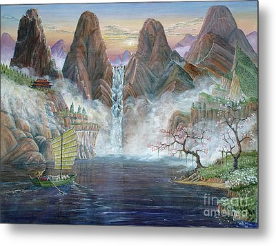 China Dawn Metal Print