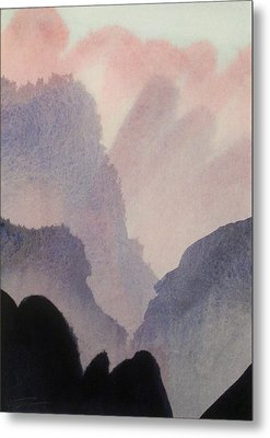 Metal Print featuring the painting China by Ed  Heaton