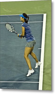 China Tennis Star Li Na Metal Print by Rexford L Powell