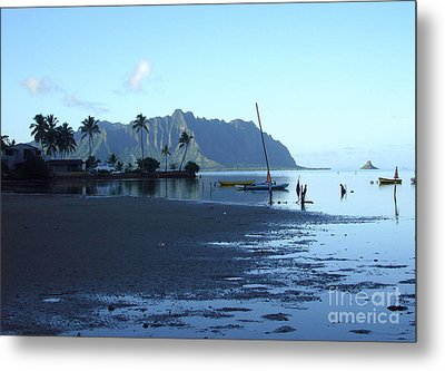 Metal Print featuring the photograph Chinaman's Hat From Kaneohe Bay by Mukta Gupta