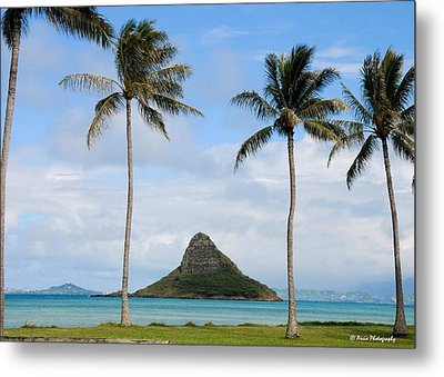 Chinaman's Hat - Oahu Hawai'i Metal Print