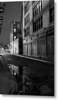 Chinatown New York City - Forsythe Street Metal Print by Gary Heller