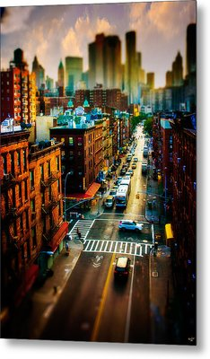 Chinatown Streets Metal Print by Chris Lord
