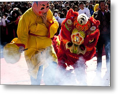 Chinese New Year Metal Print by Mark Weaver