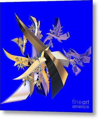 Chinese Puzzle Metal Print by Brian Raggatt