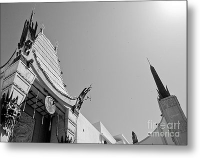 Chinese Theater Metal Print by Dan Holm