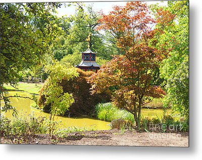 Chinese Water Garden Metal Print by Jonathan Steward
