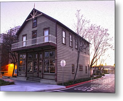 Chino Chamber Of Commerce - 02 Metal Print by Gregory Dyer