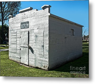 Chino Jail - 01 Metal Print by Gregory Dyer