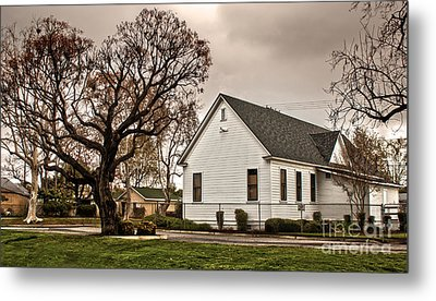 Chino Old School House - 02 Metal Print by Gregory Dyer